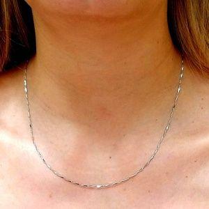 Italian Silver Necklace Chain